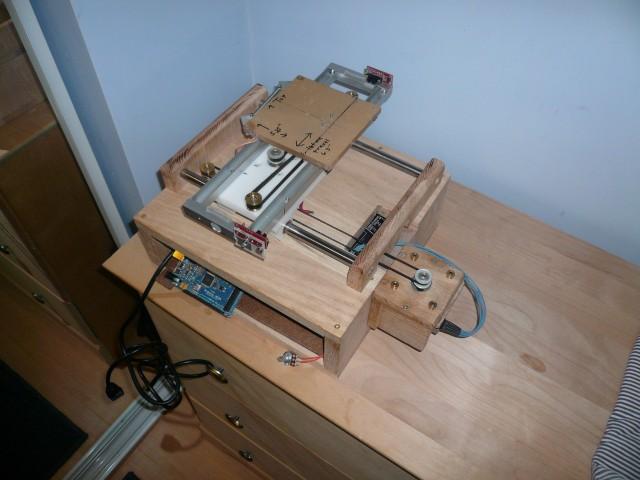 RepStrap, pre-Z, no wiring.