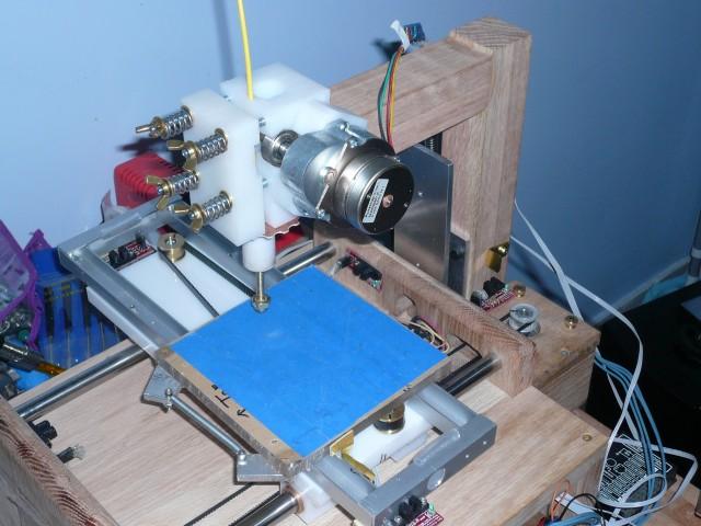 Showing filament grip adjutments.